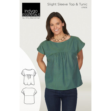 Indigo Junction - Slight Sleeve Top and Tunic