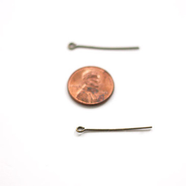 Antique Bronze Eyepins (30mm)