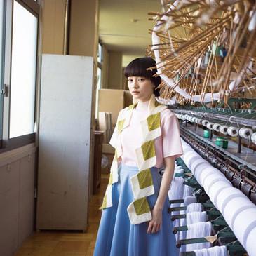 GENMOU - Hishi Mochi Scarf by Rie