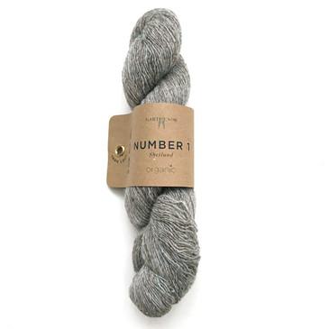Garthenor No 1 - Laceweight (Organic Shetland in Boulder) - 50g