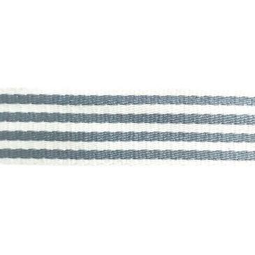 "1.5"" Skinny Stripe Webbing (Pebble Gray)"