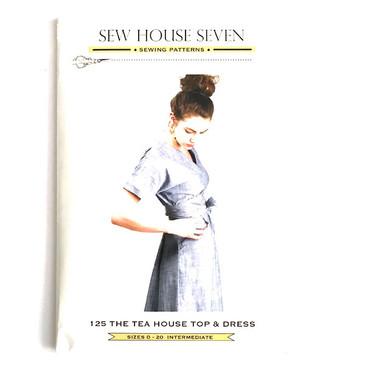 Sew House 7 - Tea House Top and Dress