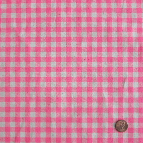 Neon Pink Gingham