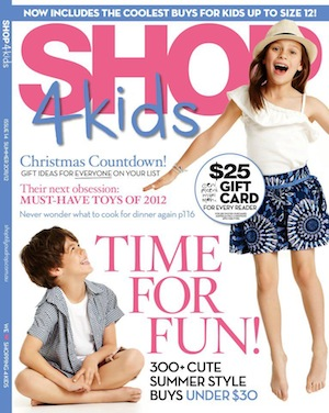 Summer 2011 Shop4kids features stocked designer kids clothes