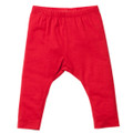 Bebe Liberty Plain Leggings - Red