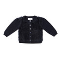 Bebe Maddy Navy Fluffy Front Cardigan