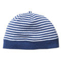 Bebe Myles Stripe Beanie with Band