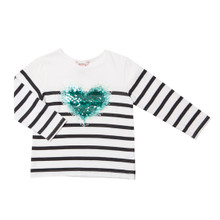 Fox & Finch Kelly Big Heart Tee - (2-6)