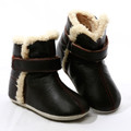 Skeanie Leather SNUG Boots - Chocolate