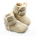 Skeanie Leather SNUG Boots - Cream
