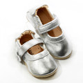 Skeanie Pre-walker Mary Jane - Silver