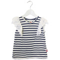 Oobi Maya Navy Stripe Top