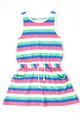 French Soda Stella Multi Stripe Summer Dress (3 to 5)