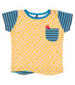 Oishi-m Foxy Ox Shortsleeve Pocket T Shirt (size 6 months to 5-6 years)