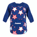 Personalised Art Smock - Star Burst