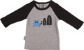 SOOKIbaby I See The Moon Mr Racoon Raglan Tee (000 to 2)