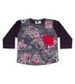 Oishi-m Born To Be Longsleeve Pocket T Shirt - Front