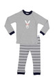 Huckleberry Lane Grey Rabbit PJ's (2 to 8)