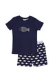 Huckleberry Lane Navy Blue Fish PJ's (1 to 8)