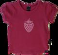 Girls Pink Strawberry Tee