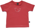 Girls Pink Bird Tee