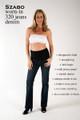 Szabo Maternity Worn-In 320 Jeans Denim
