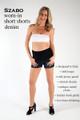 Szabo Maternity Worn-In Short Shorts Denim