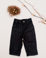 eco peko unisex organic denim jeans - front