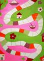 Interactive Play Rug Playing Way Pink