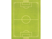 Interactive Play Rug Soccer Football Pitch