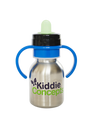 Sippy Top Bottle by Kiddie Concepts Blue