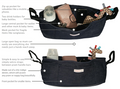 Denim Pram and Stroller Organiser