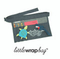 littlewrapbag Turtle & Shark on Denim