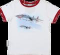 SOSOOKI Flight Adventures Vintage Short Sleeve Tee - Front View