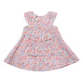 Bebe Vivienne Print Dress with Bow