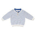 Bebe Iggy Striped Henley Jumper