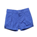 Bebe Evie Plain Shorts in Blueberry