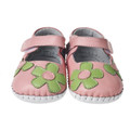 Little Blue Lamb Baby girls soft sole shoe in Pink
