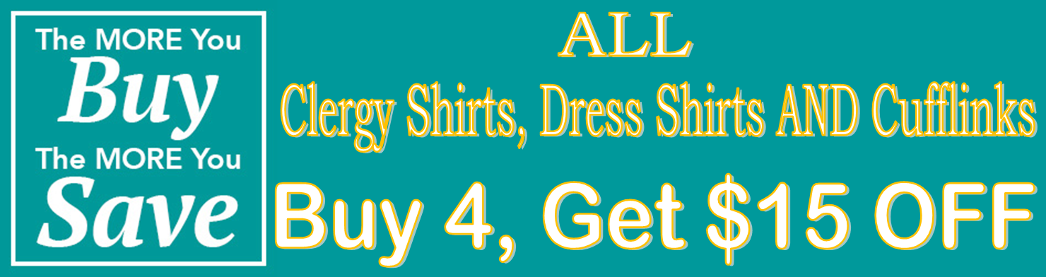 Clergy Shirts Discount Coupon Sale