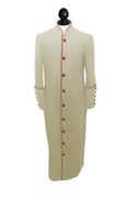 Men's Clergy Cassock - Candle and Red