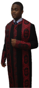 Black and Red Premium Clergy Robe