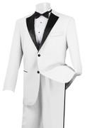 Men's Stylish Tuxedo White and Black