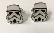 Star Wars Stormtrooper Cufflinks with White Helmet