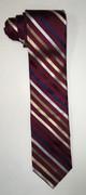 Jos. A. Bank Red Cross Striped Modern Necktie