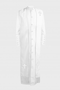 Men's Clergy Robe - White