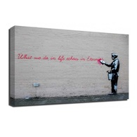 Banksy Canvas Print - Echoes In Eternity
