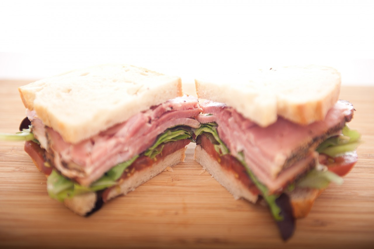 All our hams, bacons and turkey tastes great in a sandwich with a little hogwash and mayo!