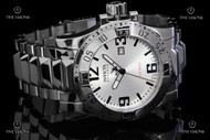 Invicta Reserve Men's Excursion Swiss Quartz Mirror Polished Stainless Steel Bracelet Watch - 5674