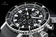 Vostok-Europe Mriya Limited Edition Automatic Column-Wheel Chronograph Watch - NE88-5554237