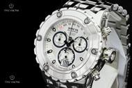 Invicta Reserve Specialty Subaqua Swiss Chronograph Mirror Polish Bracelet Watch - 11871